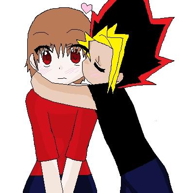 Me and Yugi. arent we cute?