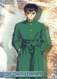 Yusuke Urameshi We don't look alike, but we act almost exactly the same(minus the beating the crap out of people)...