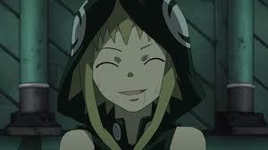 Medusa from soul eater, she is a witch!:)
