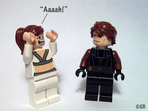 lego people have something to say