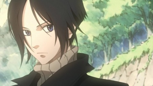 My hair looks pretty much like Yoite's - Nabari no Ou