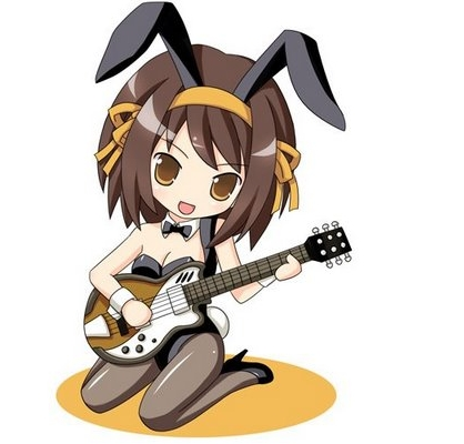 Here's a chibi picture of Suzumiya Haru-chan from TMOHS!:3