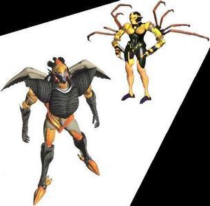 Let's not forget Airazor & Blackarachnia from Beast Wars. JD