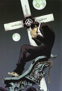 "Wolfwood's ""cross""!! Trigun :)"