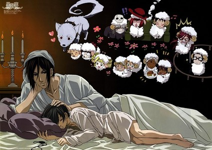 i pick ciel and sebastian sleeping