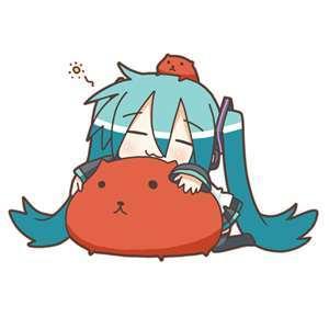 chibi Miku/Hachune Miku!!!! <3