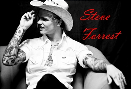 I have a celb crush which is Steve Forrest , he is an awesome baterista and very hot.
