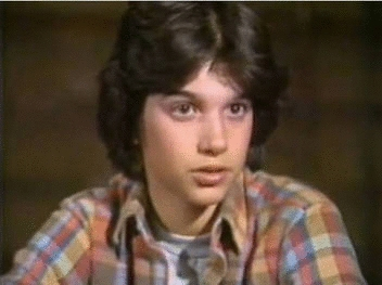 I used to have a crush at my school. His name's Daniel W. But then I found out he's an ***. To the teachers. Just because he couldn't get his hot pocket. My celebrity crush is Ralph Macchio. Not while he's fifty. I'm talking about when he was like twenty.
