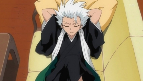 Captain Hitsugaya from Bleach! Awww! :)