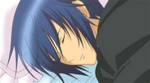 Cute Ikuto sleeping