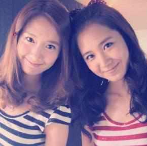 Charming Girl (Yoona) and Black Pearl (Yuri)