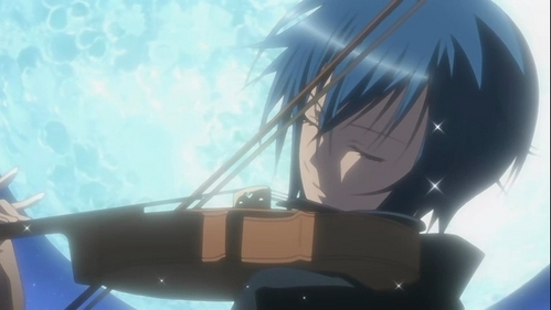 Would this count as a repeat. Ikuto has already been posted, but it's of him sleeping. I have him playing the violin.