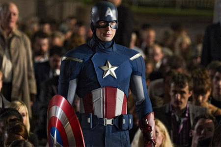 i like captain america the best of them all...he's o original and awsome...not to mention his actor is a sexy beast....XD