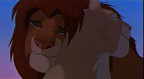 No. Just no. Why would Nala EVER mate with Scar? She was always with Simba.