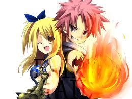 Lucy and Natsu from Fairy Tale!