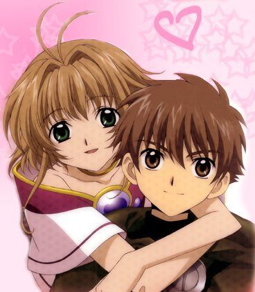 Syaoran and Sakura <3 CUTE together :)