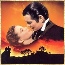 Hmmm I guess I'll say Rhett Butler and Scarlett O'Hara in the book Gone With the Wind (by Margaret Mitchell). Their relationship is very complex and dramatic and they both play a lot of games with each other