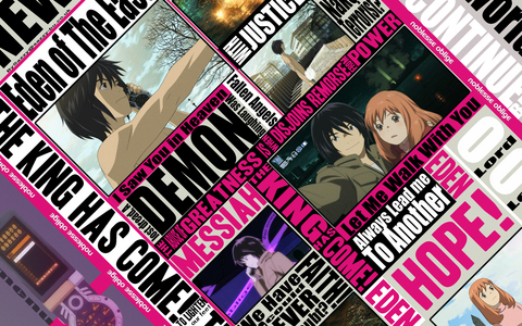 i watch eden of the east all the time it's a great Аниме