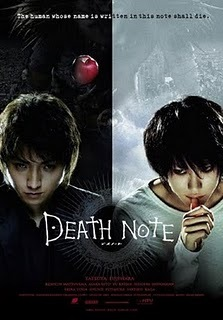 Death Note... (This is the movie cover, but oh well...)