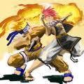 naruto and Fairy Tail naruto and Natsu rocks!