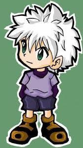 Killua Zoldyck! He's really cute^_^