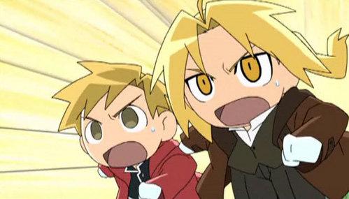 Edward Elric's always a chibi. ^^
