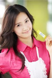 Yoona and ピンク
