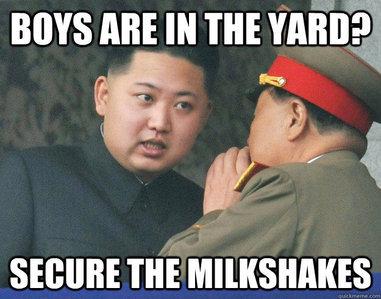 inb4 North Korea stuff.