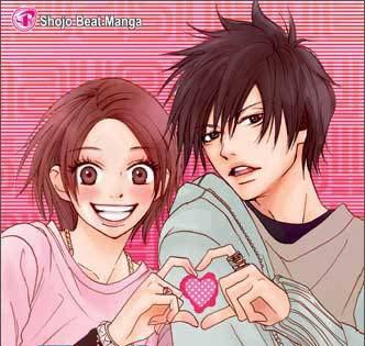 >.< I like them a lot!!!!! Haruna and Yoh from HSD. [I 爱情 Haruna]