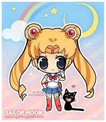 sailor moon and Luna!!!
