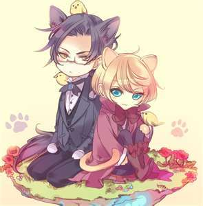 Alois And Claude From Black Butler Are The CUTEST!