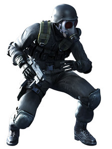 I would actually like to cosplay as một khúc lớn, hunk from Resident Evil hoặc a Helghast soldier from Killzone.