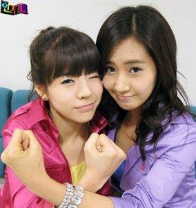 Sunny and Yuri i think... not so many moments