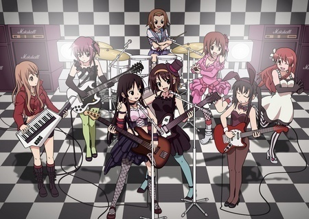 The K-On and Haruhi Suzumiya group, switched! ^^