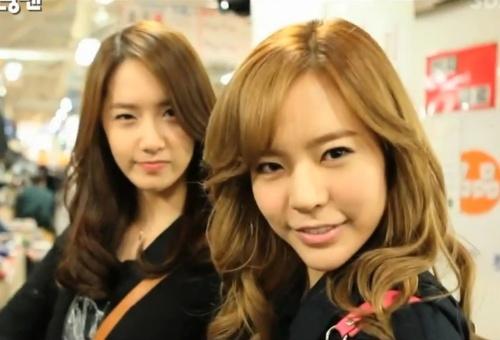 Yoona and sunny.