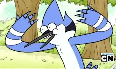 For me I would Любовь to meet Mordecai! That would just be too cool!x3