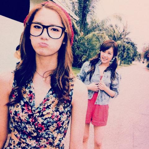 Tiffany and Yoona! ^^ So cute
