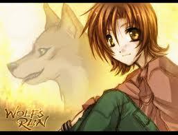 Toboe from Wolf's Rain.