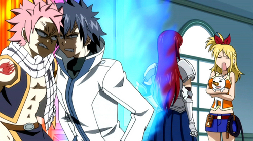 Gray reminds me of myself and Natsu reminds me of my frenemy in school