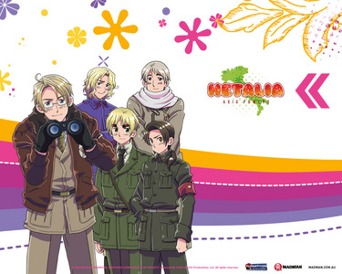 ANIME!! Not really. The first thing that comes to my mind is Hetalia.