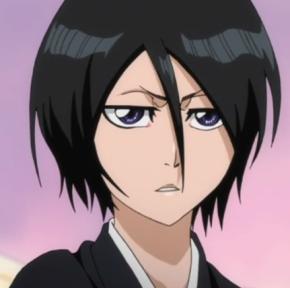 I really Cinta Rukia. She's my first kegemaran character in Bleach! She's cute and cool. And i like her with Ichigo. :D Oh, i really like her new hair ^^b