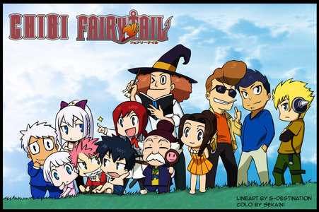 chibi picture and friendship