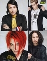the message they have and their music........... THEY ARE AMAZING AND SEXY AND MCR HAS A GREAT MESSAGE...