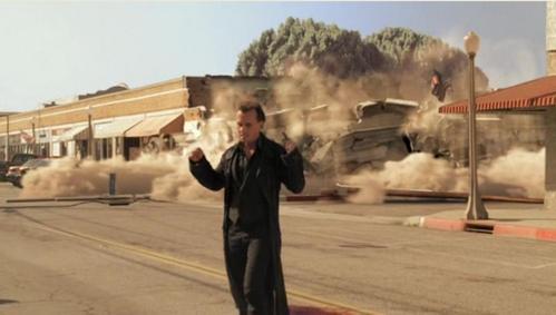 Robert Knepper in Heroes, superpower: Terrakinesis