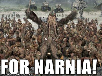 FOR NARNIA!!!!!!!!!!!! AND FOR ASLAN!!!!!!!!!!!!!!