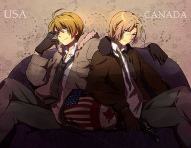 I 爱情 THIS! :D seriously, I 爱情 it where there are pictures of America and Canada together... Especially where 你 can tell that they are brothers and 爱情 each other as such... I 爱情 that because it makes me proud to be Canadian and 爱情 America just the same. :)