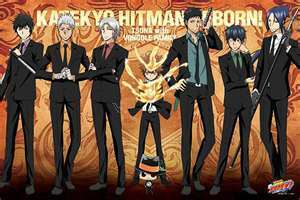 Katekyo Hitman Reborn! and Fairy Tail......