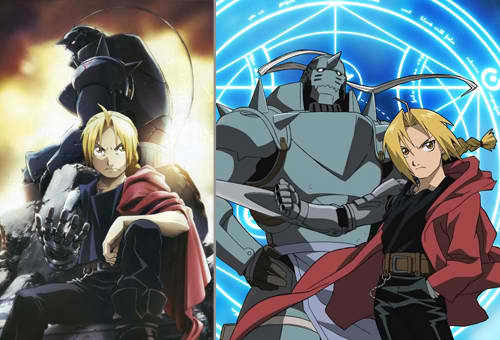 Fullmetal Alchemist!! I always watched this, even if I already finished the first series and Brotherhood! ^_^