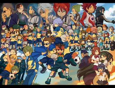 Inazuma Eleven =w= I know almost all episodes almost every second. =w=