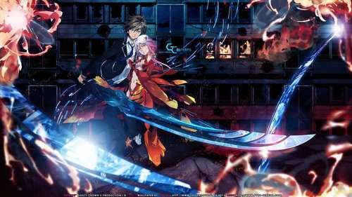 all right. i have lots and lots of 最喜爱的 and it's really hard to choose. but my current fave is Guilty Crown.